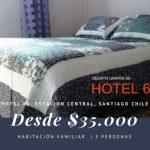 Alojamiento economico en santiago